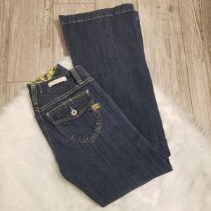 Miss me jeans wide leg  flare size 28